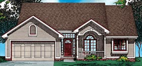 Country House Plan 99490 Elevation