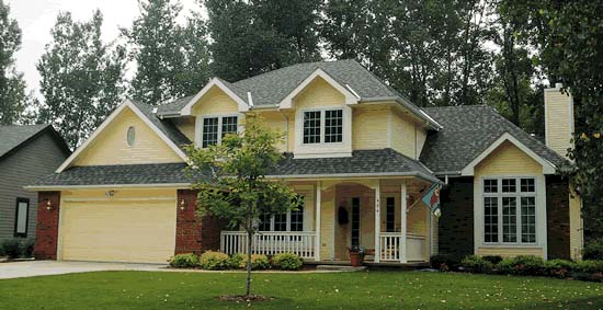 European House Plan 99496 with 4 Beds, 3 Baths, 2 Car Garage Picture 1