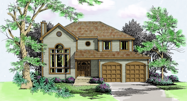Contemporary European House Plan 99652 Elevation