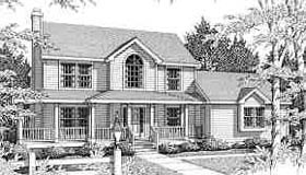 Colonial Country Southern Traditional House Plan 99656 Elevation