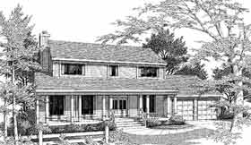 Country House Plan 99667 Elevation