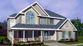 House Plan 99677 | Country Mediterranean Southern Traditional Style Plan with 2470 Sq Ft, 4 Bedrooms, 3 Bathrooms, 2 Car Garage Elevation