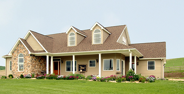 Cape Cod Country House Plan 99680