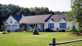 Country Farmhouse Traditional House Plan 99685 Elevation