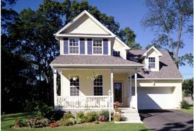 Colonial , Country , Southern , Traditional House Plan 99689 with 3 Beds, 3 Baths, 2 Car Garage Elevation