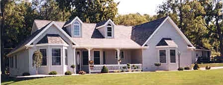 Country Ranch House Plan 99692