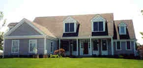 Cape Cod Country Farmhouse Traditional House Plan 99695 Elevation