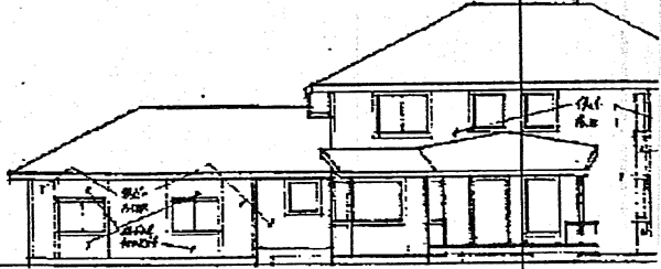 European Southwest House Plan 99791 Rear Elevation