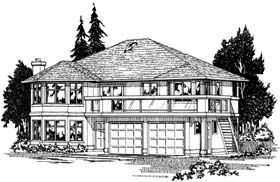 Mediterranean House Plan 99905 Elevation