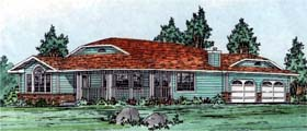 Plan Number 99909 - 1494 Square Feet