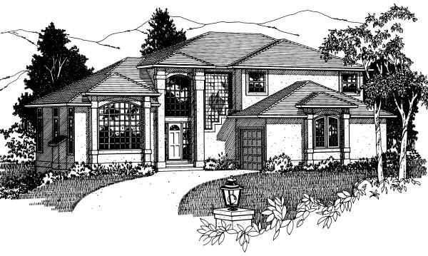 House Plan 99916