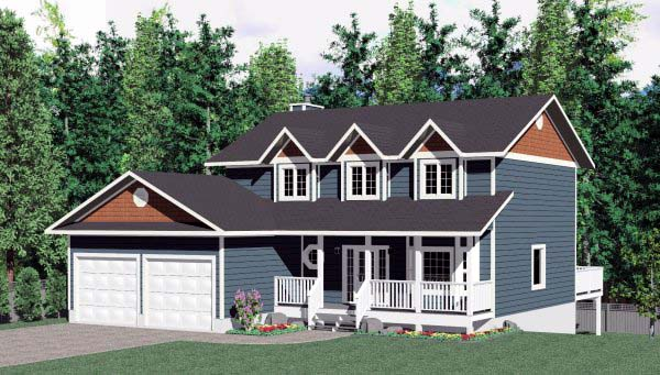 Cape Cod Country House Plan 99927 Elevation
