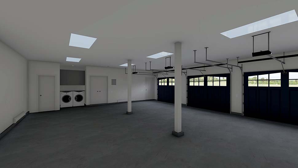 3 Car Garage Apartment Plan 99939 with 2 Beds, 2 Baths Picture 2