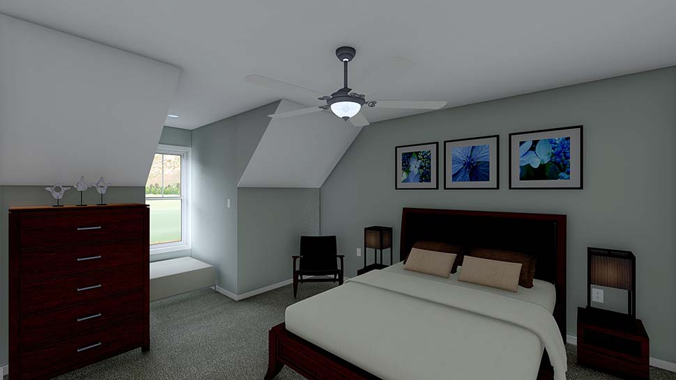 3 Car Garage Apartment Plan 99939 with 2 Beds, 2 Baths Picture 6