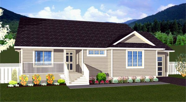Traditional House Plan 99951 Elevation