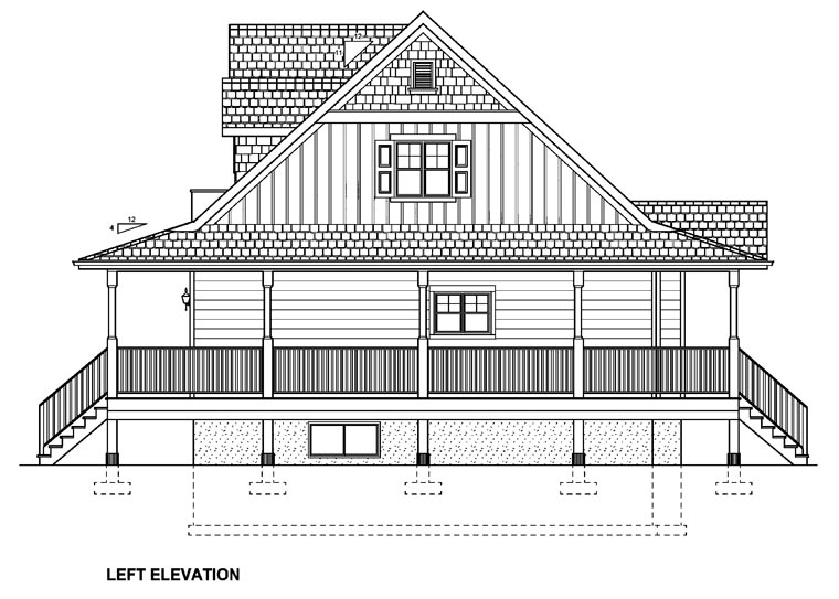 Country House Plan 99964 with 3 Beds, 4 Baths Picture 1