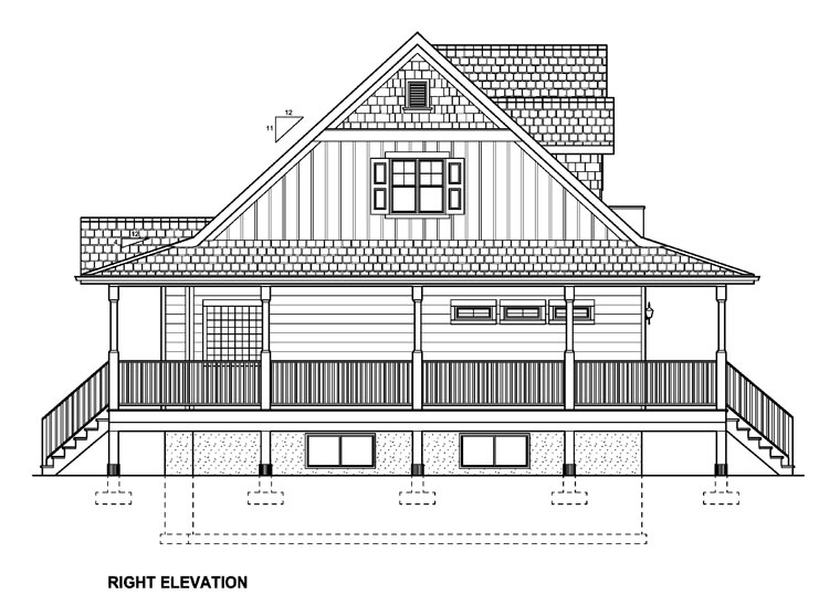 Country House Plan 99964 with 3 Beds, 4 Baths Picture 2