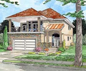 Florida House Plan 99967 Elevation