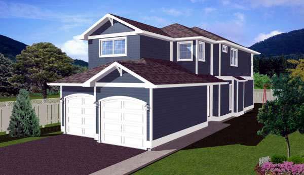 Craftsman House Plan 99972 Elevation