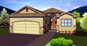 Craftsman House Plan 99982 Elevation