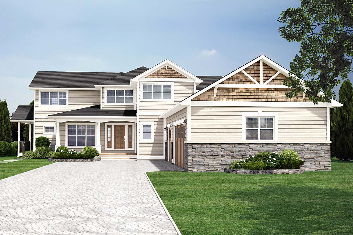 House Plan 99983 Elevation