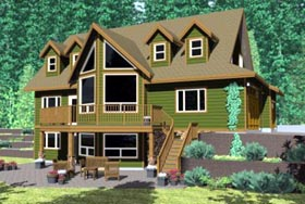 House Plan 99994 | Country Style Plan with 2113 Sq Ft, 3 Bed, 3 Bath, 3 Car Garage Elevation