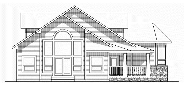 Victorian House Plan 99995 Rear Elevation