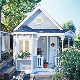 Victorian Garden Playhouse - Project Plan 300970
