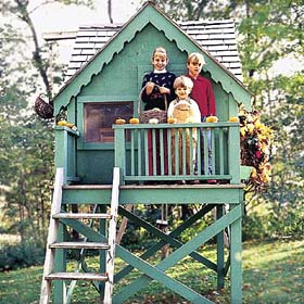 Warm and Welcome Playhouse - Project Plan 300988