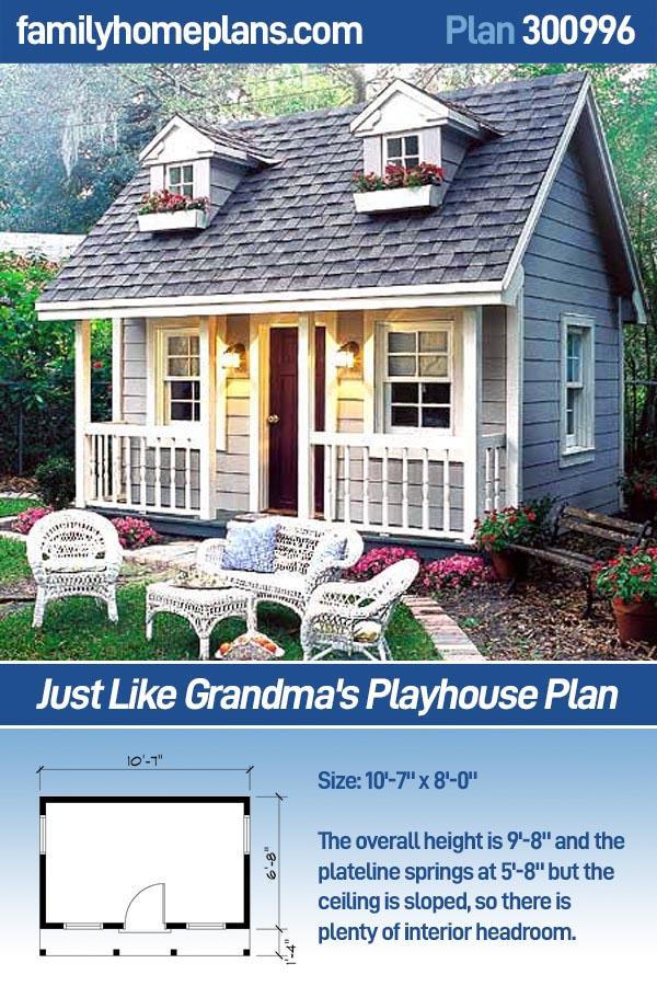 300996 - Just Like Grandma's Playhouse