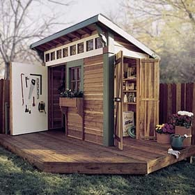 Puttering Shed Plan