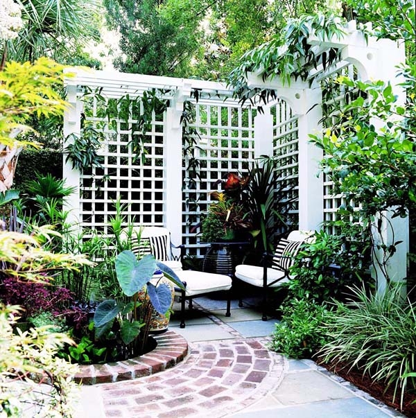 Old-World Privacy Trellis - Project Number 503483