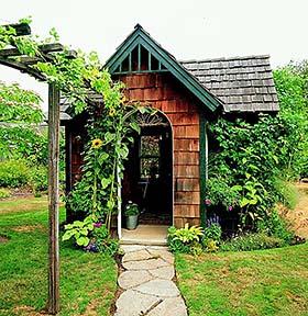 Cedar Shingle Shed
