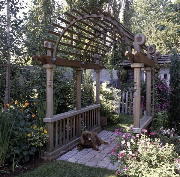 Covered Bridge Arbor - Project Plan 503492