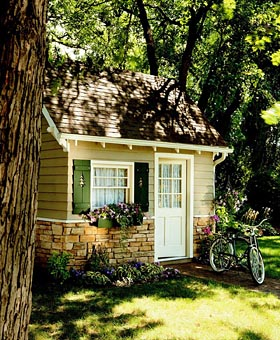 Cottage-Cozy Shed
