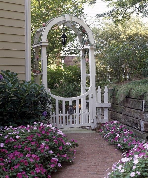 503506 - Garden Gateway Arched Arbor