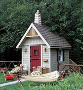 One-Room School Playhouse