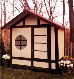 Playhouse Storage Shed