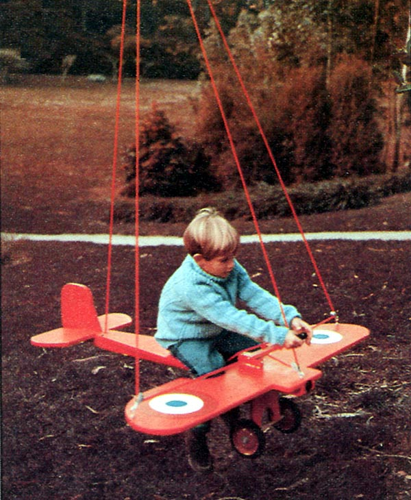 504161 - Swinging Airplane