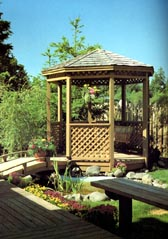 Eight-Sided Gazebo