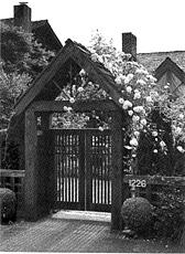 Cedar Entry Gate