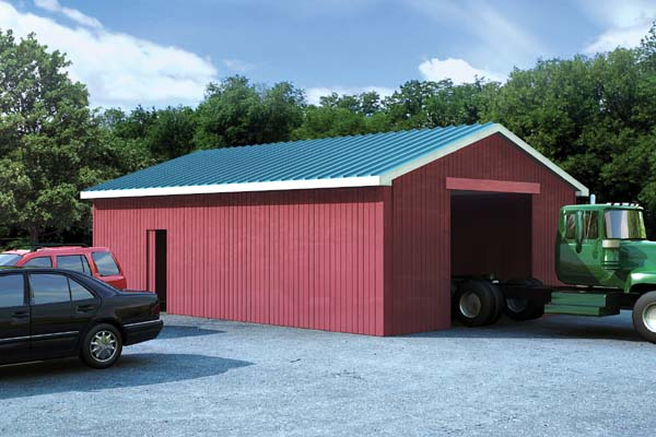 Project plan 6019 pole barns for Pole barn plans pdf