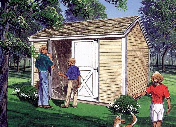 Salt Box Storage Sheds - Project Plan 85900