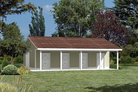 Pole Building - Horse Barn  - Project Plan 85940