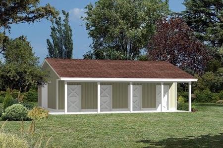 85940 - Pole Building - Horse Barn