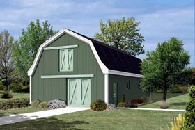 Pole Building - Horse Barn with Loft