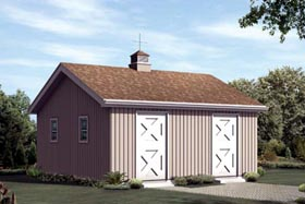 Horse Barn - 2 Stall - Project Plan 85952