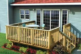 12x12 deck plans