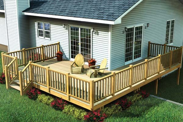 Easy Corner Deck - Project Plan 90014