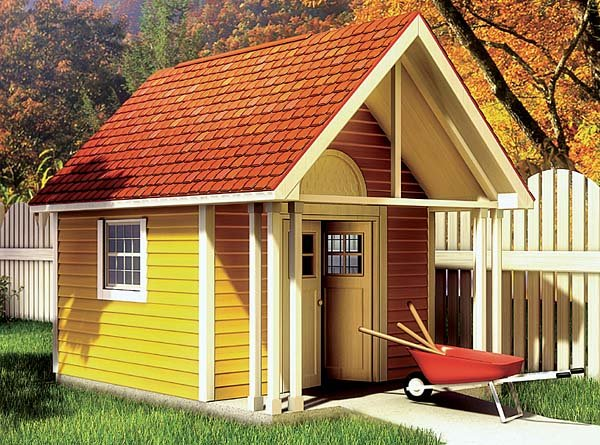 Fancy Storage Shed